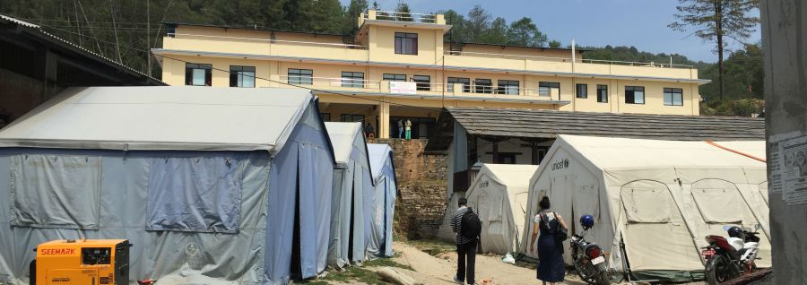 Nepal's Dolakha District slowly recovering from the earthquakes in 2015